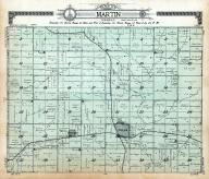 Martin Township, Hills, Bruce, Rock County 1914